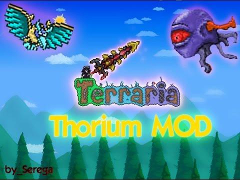 Lets Play Terraria Thorium Mod #12 Новый босс и куча нового!
