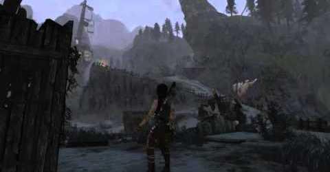 Tomb Raider (все секреты и тайники) — Берег печали (Лагерь выживших) 20160320-02