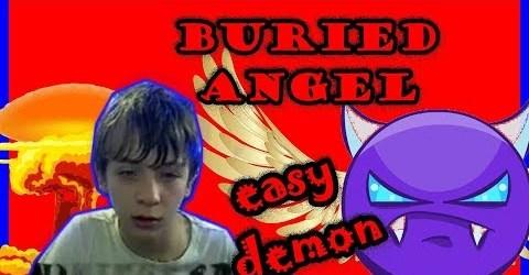 BURIED ANGEL/EASY DEMON#11/GEOMETRY DASH/75FPS/75ГЕРЦ/NO HACKS