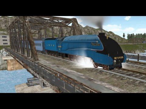Train Simulator 2016| Паровозики Видео для Детей. Грузовой поезд, Интерсити