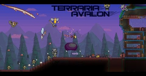 Lets Play Terraria AVALON #2 Джунгли и глаз Ктулху