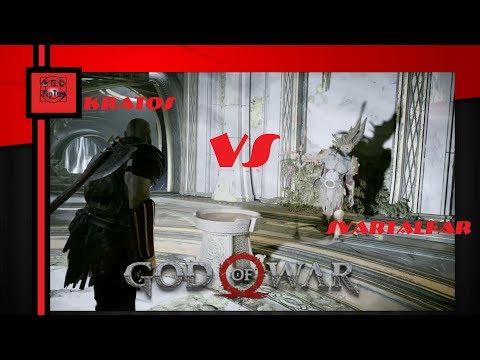 Бой с Свартальефурр в God of War 4 | На высоком уровне сложности