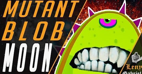 Tales from Space — Mutant Blobs Attack — level 11 Moon (Луна). Симулятор слизня