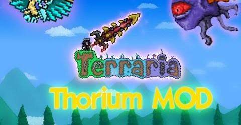 Lets Play Terraria Thorium Mod #34 Фармим эктоплазму