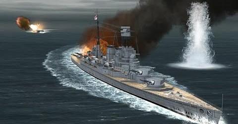 Морской Бой 3D. Видео для Детей. Atlantic  Fleet 2016
