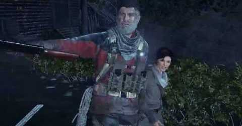 Rise of the Tomb Raider — Обзорная скала — Церковный двор