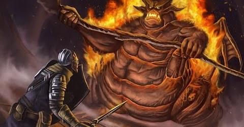 Dark Souls (прохождение) #73 — Мудрый демон огня. Демон стоног. 160226-3w4