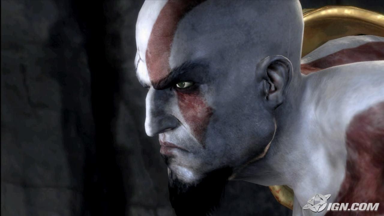 The God of War himself, Kratos