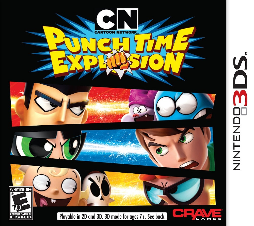 Cn Punch Time Explosion Xl Nintendo Ds