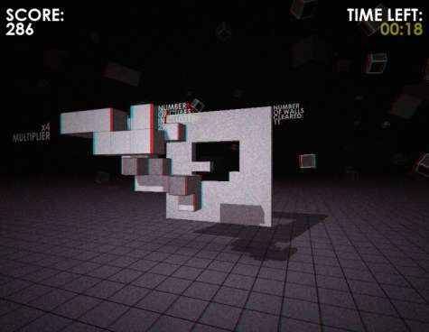 super hypercube game tetris sony Playstation VR virtual reality