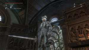 Personnage dans Bloodborne