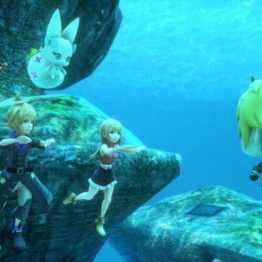 World of Final Fantasy - Sous marin