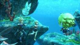 World of Final Fantasy - Sous marin