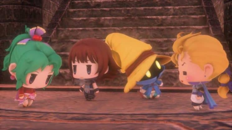 World of Final Fantasy - Team