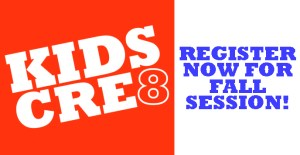 Kids Cre8 Registration Image