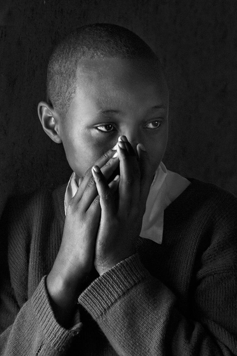 African Schoolboy