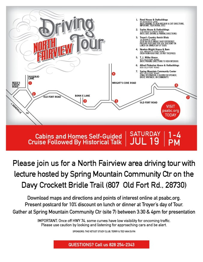 Fairview Driving Tour