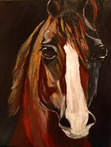 Debbie's Horse Present!