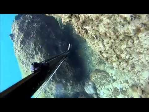 winter spearfishing Greece 2015 no2 (pesca submarina ψαροντουφεκο)