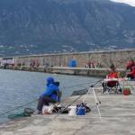 Συνάντηση ερασιτεχνών ψαράδων στο λιμάνι της Καλαμάτας