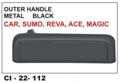 Outer Door Handle Maruti 800, Tata Sumo, Tata Ace Maruti 1000 Metal (LHS) CI-112L