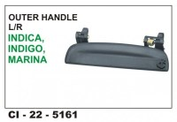 Outer Door Handle Indica RHS CI-5161R