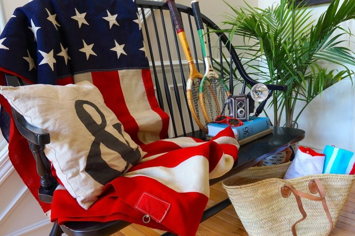 American Flag Decor