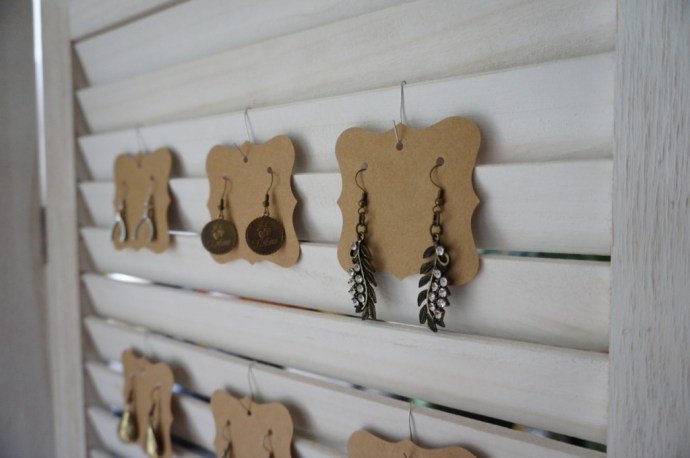 Various handmade earrings with French flair