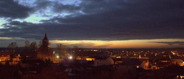 Panorama Przedborza. Fot. BBI