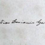 Christian Beniamin Herbst signature1