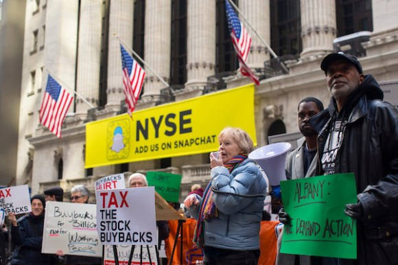 New Yorkers to Albany: Tax Stock Buyback Trades to Protect ...