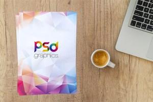 CV Resume Mockup Free PSD
