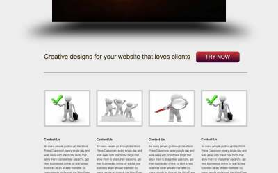 Creating a Corporate website Template in Photoshop