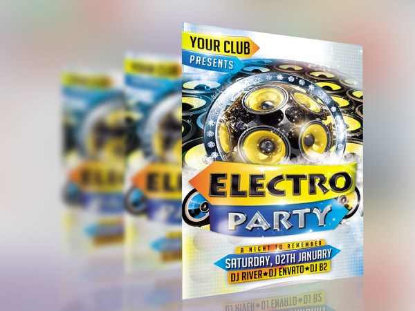 Free PSD Poster & Flyer Mock up download