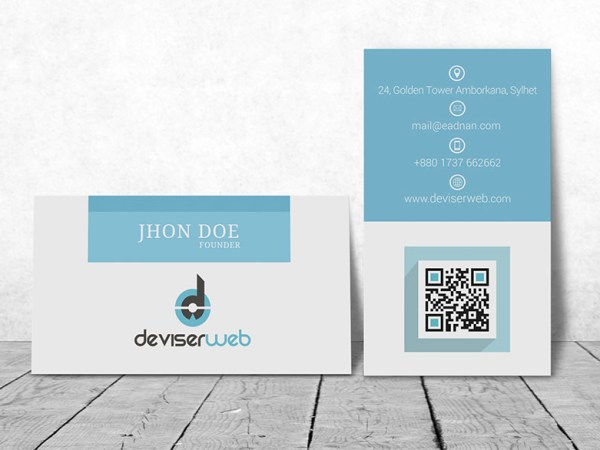 Free PSD Bsiness Card Mock-up-2