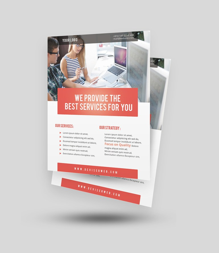 Free psd Corporate Flyer Templates