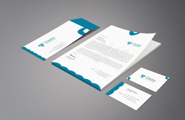 Business Card Letterhead00 Envelope Template
