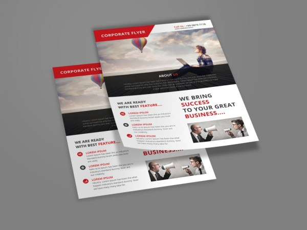 Free Psd Corporate Flyer Download