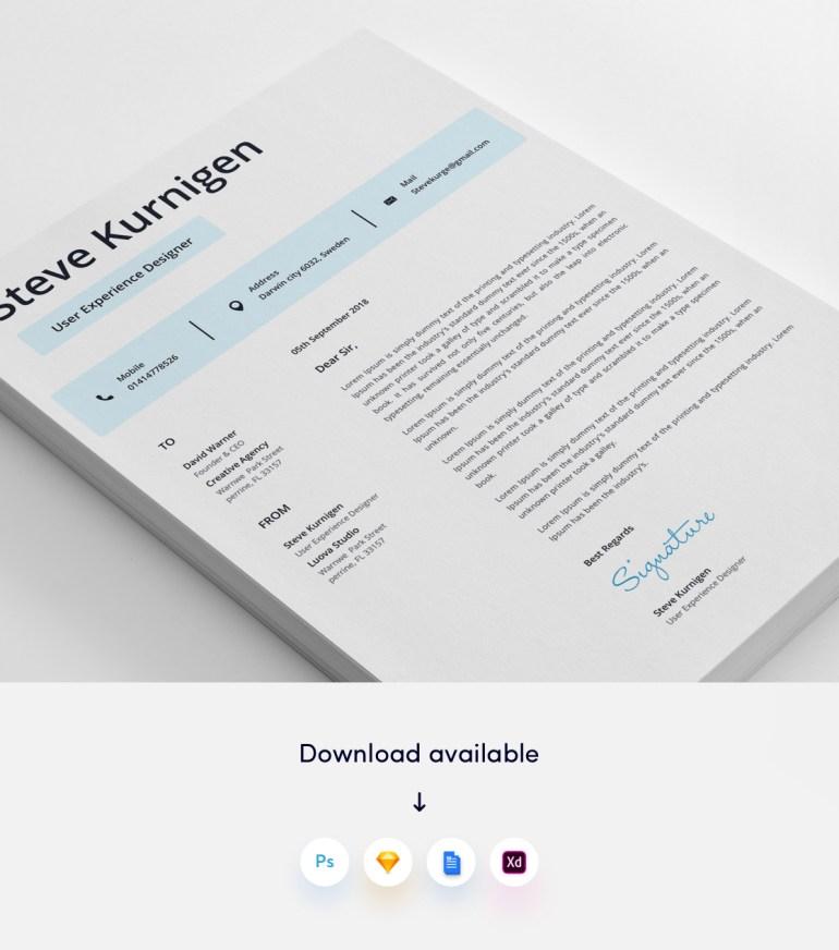 3. 3 page Designer CV/Resume Template