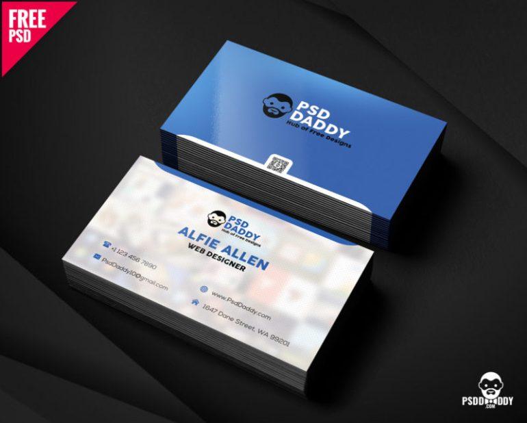 Business Card Free PSD
