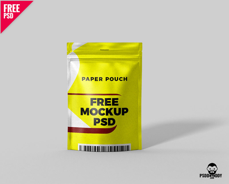 Download Free Paper Pouch Free Mockup PSD | PsdDaddy.com