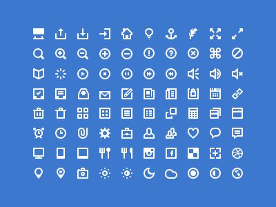 80 White Icon