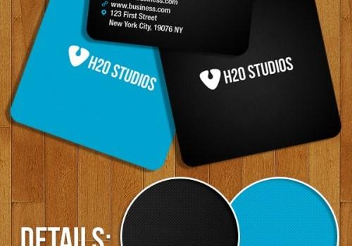 Mini Business Cards Free PSD