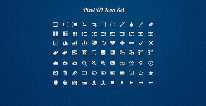 Pixel UI Icon Set