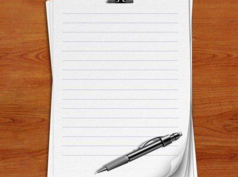 a notebook psd material