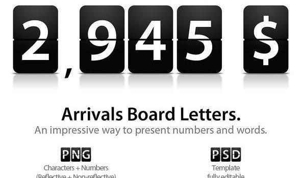 Alphanumeric-flop PSD (including PNG)
