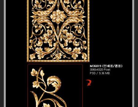 Artcity Korea fashion ornate pattern series 01