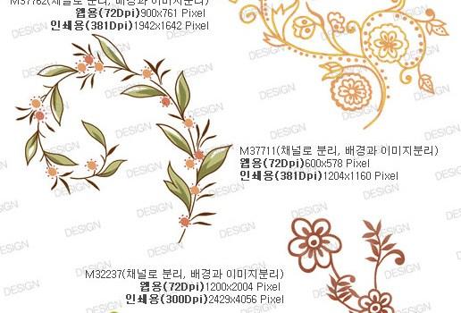 Artcity Korea fashion ornate pattern series 02