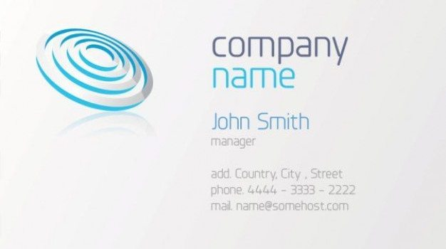 business cards templates psd layered material