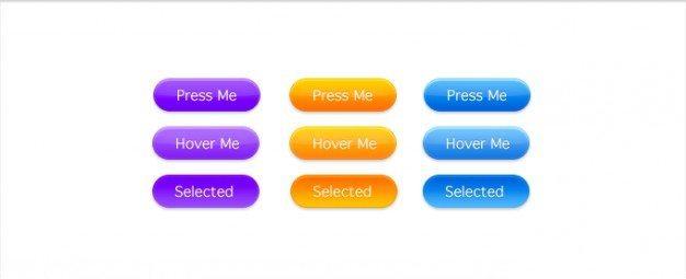 button purple